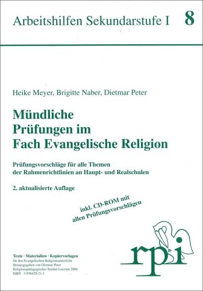 Mündliche Prüfungen im Fach Evangelische Religion