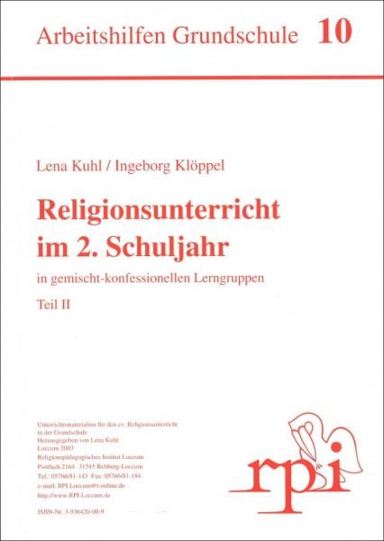 Religionsunterricht im 2. Schuljahr (Teil 2)