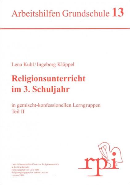 Religionsunterricht im 3. Schuljahr (Teil 2)